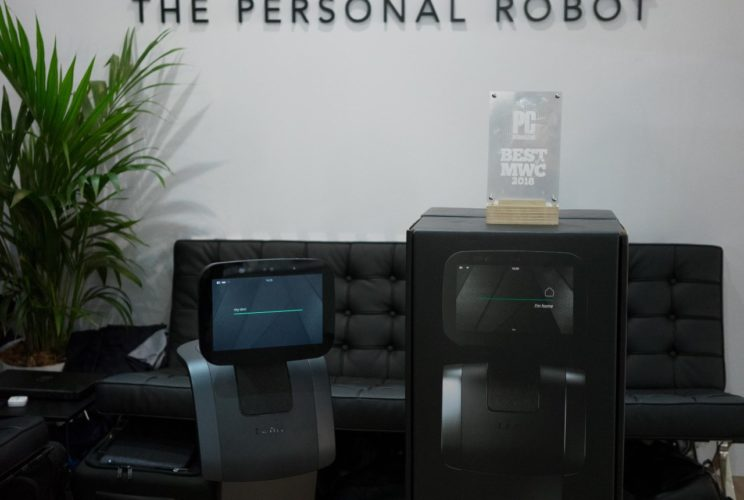 temi personal robot at MWC Barcelona