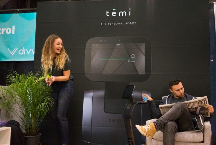 temi personal robot SXSW morning