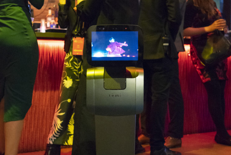 temi home robot NYC 2018