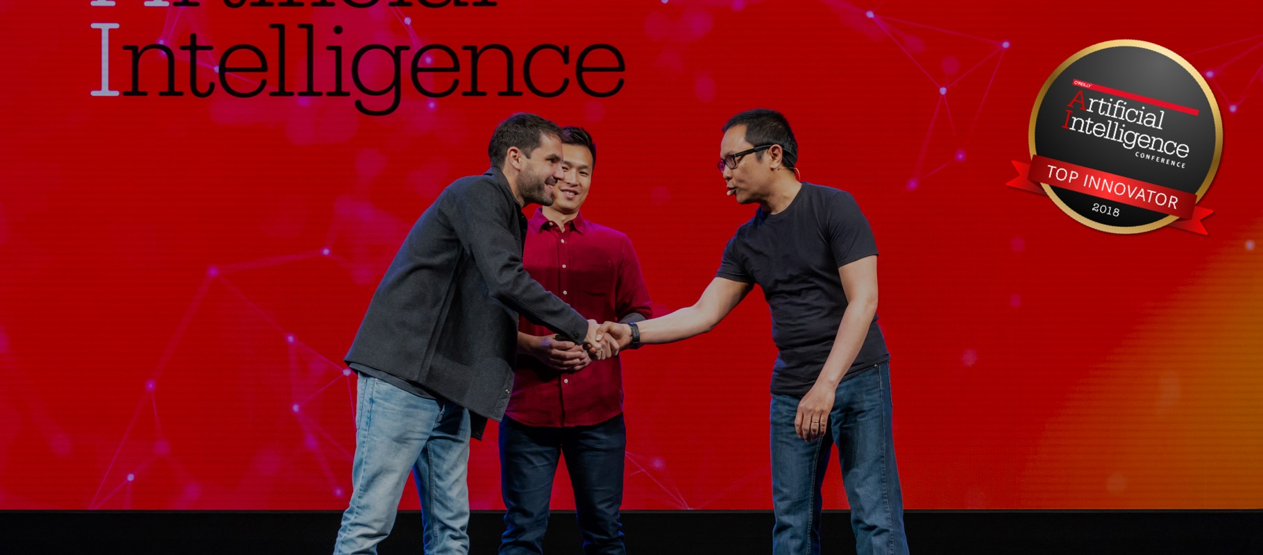 2018年纽约AI大会的最佳创新奖-timi机器人