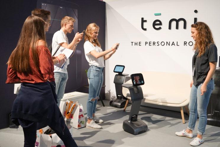 temi robot IFA booth