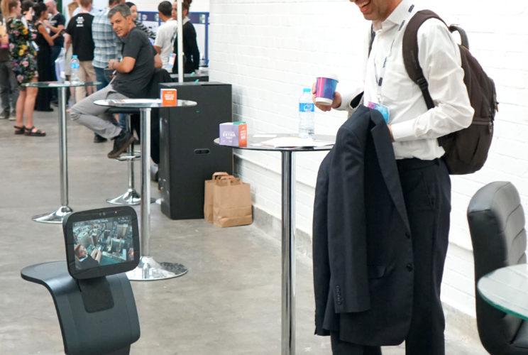 temi robot event london