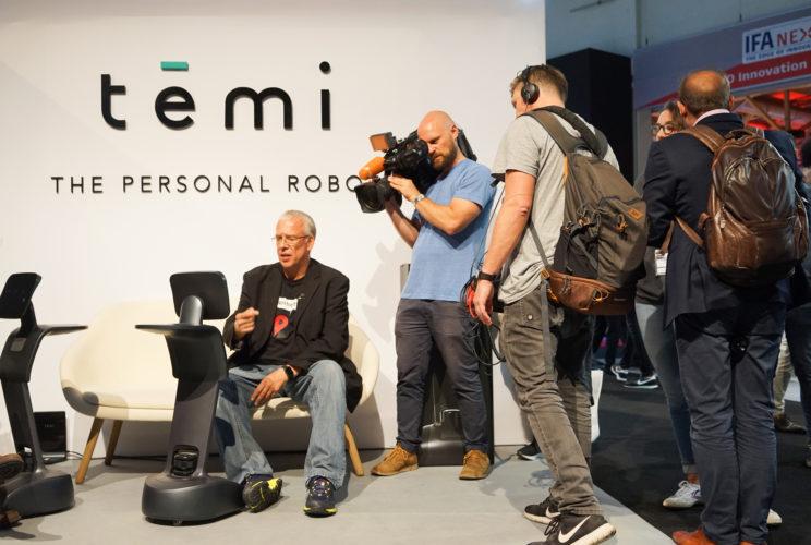 temi robot news report