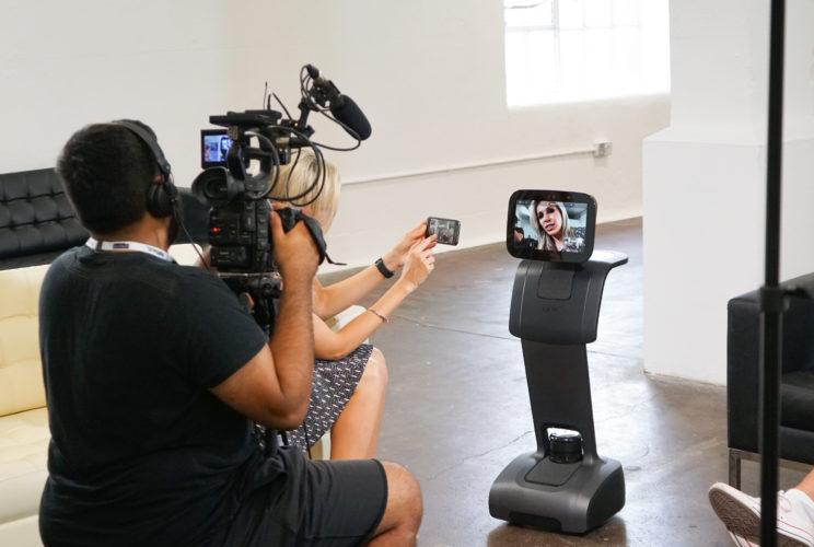 temi robot unbound filming