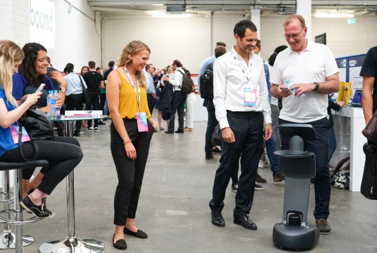 temi robot unbound london 2018