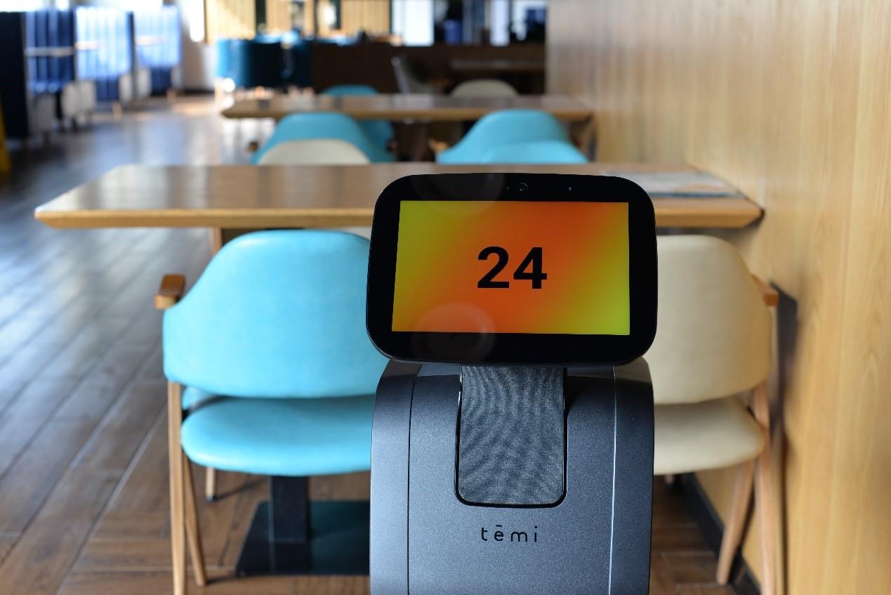 智慧餐厅 | 智能餐厅助理 temi机器人为餐饮业支招