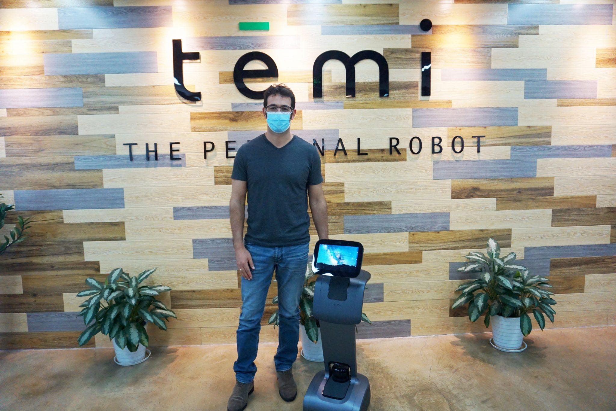 转载南方日报:媒体测评 你所期待的temi服务机器人