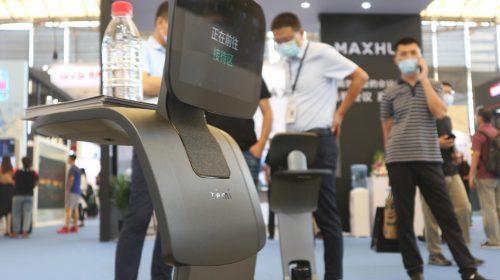 智慧办公产品齐聚上海 temi瞄准场景智能化
