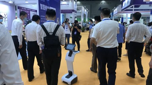广州老博会举办 temi机器人成为智慧养老新宠儿