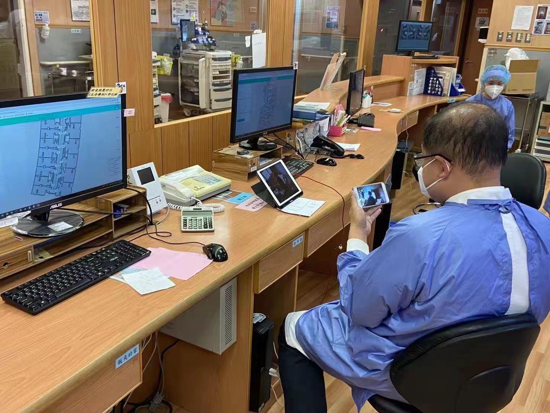 temi智能机器人进入专责病房 台中慈济防疫新利器