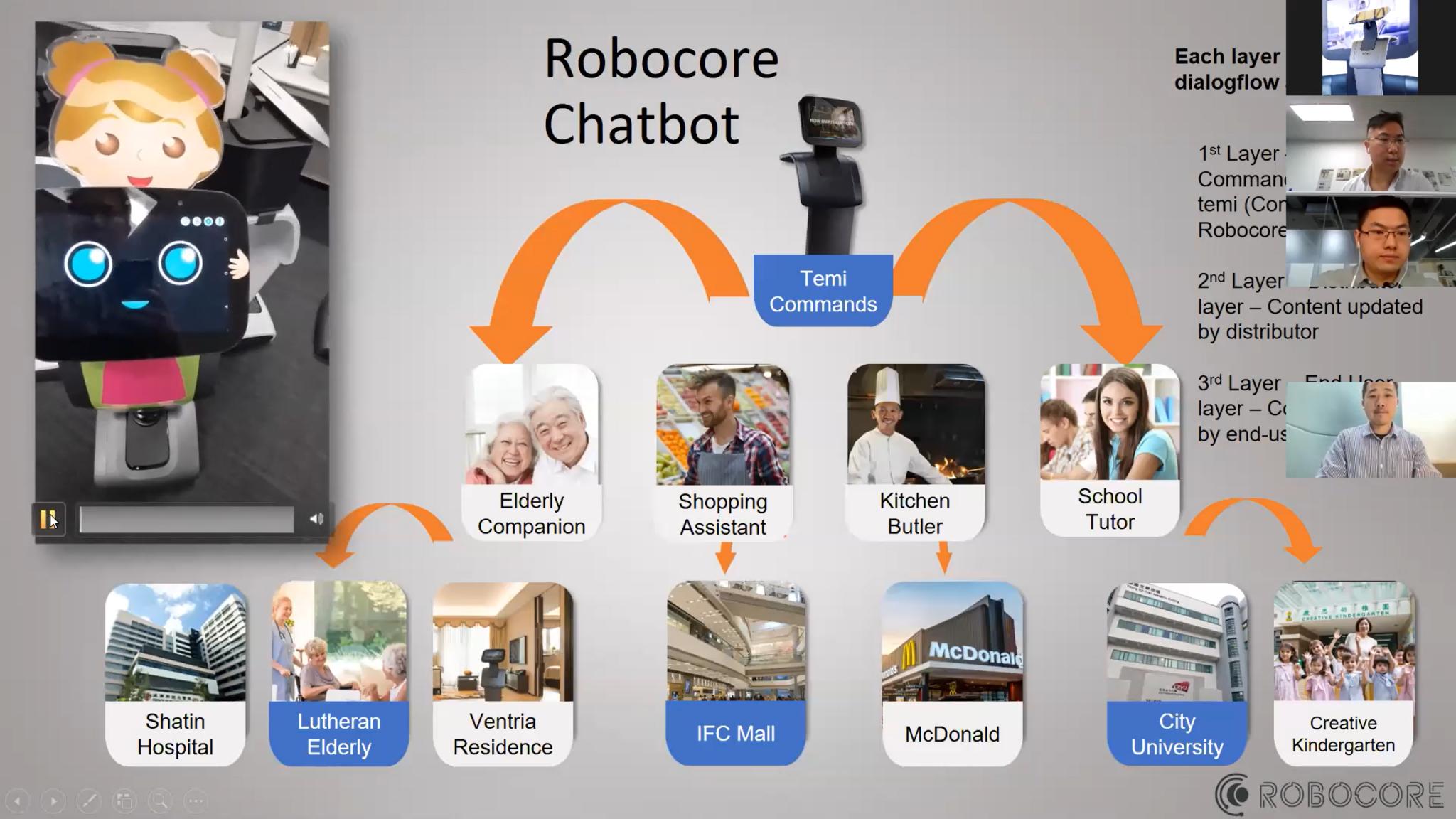 temi机器人在线研讨会 23个国家和地区共话发展机遇